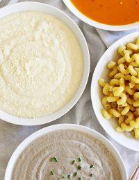 make your own pasta bar