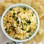 slow cooker Mexican grilled corn dip