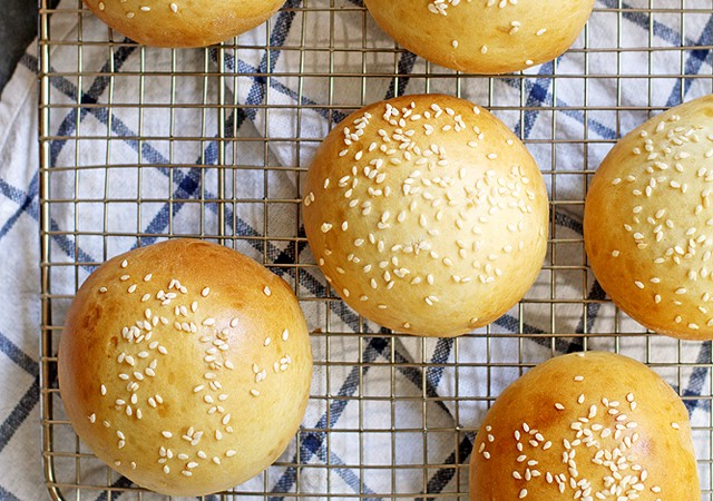 super soft hamburger buns