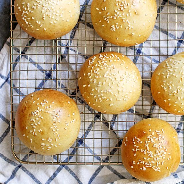 super soft hamburger buns