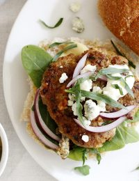 tarragon blue cheese turkey burgers