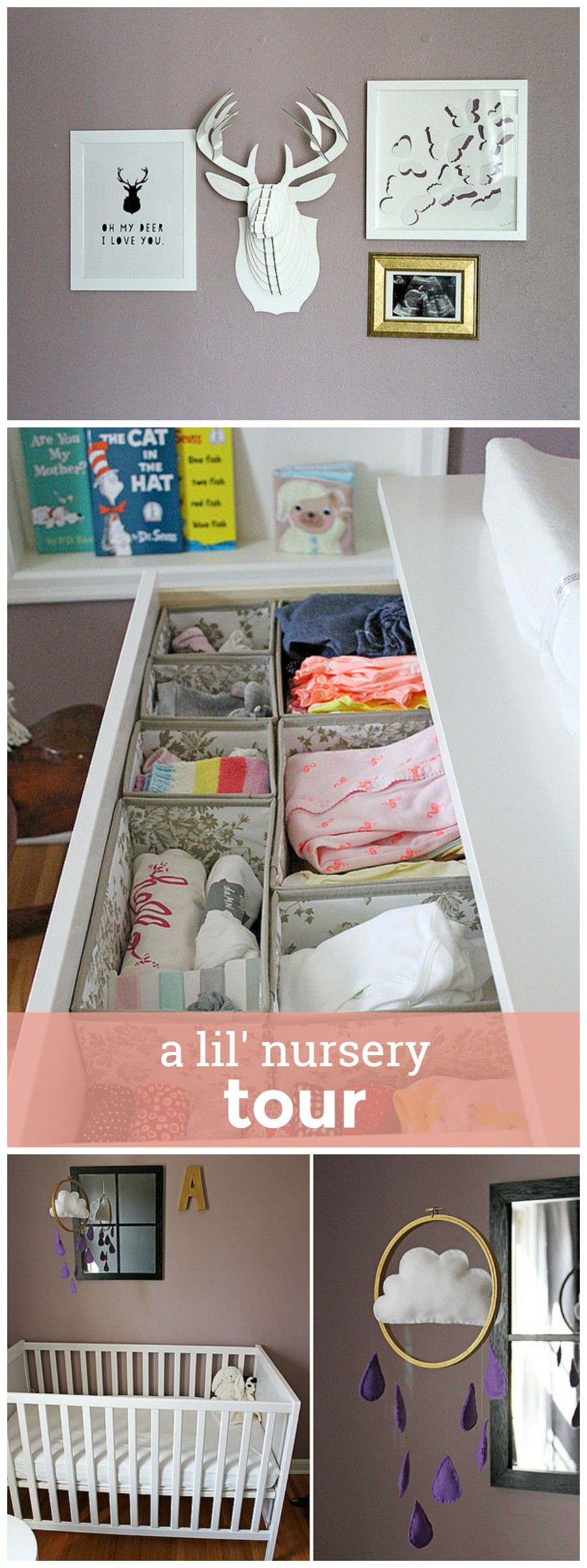 A Lil' Nursery Tour girlversusdough.com @girlversusdough