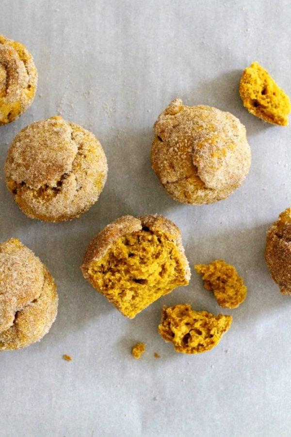 pumpkin chai doughnut muffins