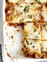 lighter lasagna bolognese