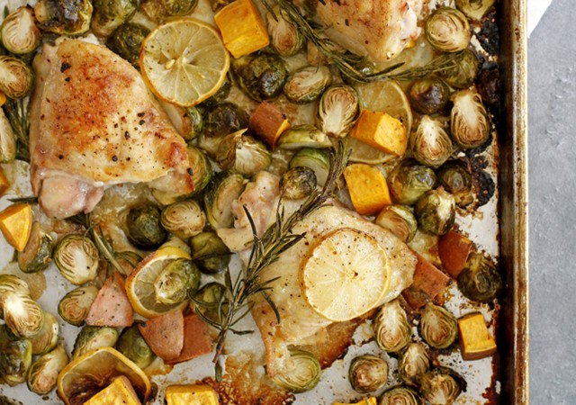 lemon rosemary chicken thighs