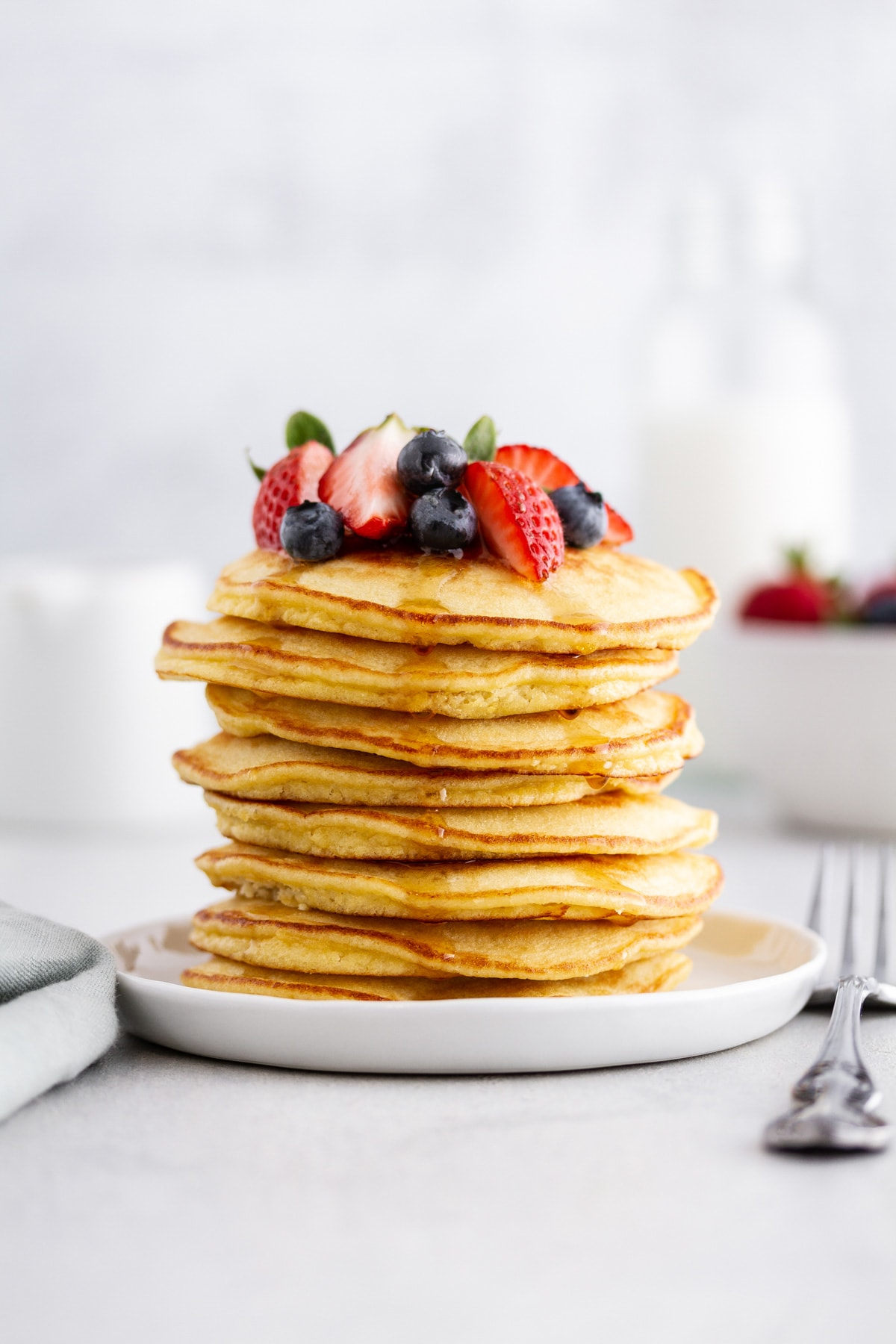 Fluffy Coconut Flour Pancakes Recipe Girl Versus Dough