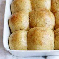 brown butter sweet potato buttermilk rolls