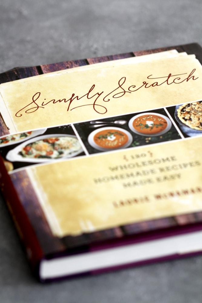 simply scratch cookbook
