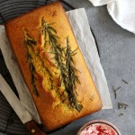 rosemary cornmeal loaf