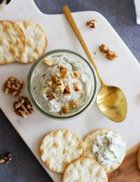 nutty blue cheese spread