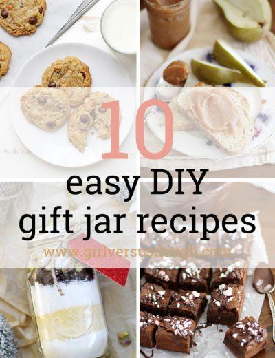 10 easy gift jar recipes
