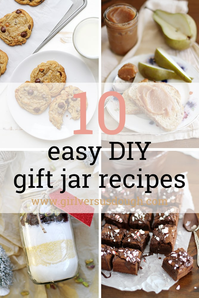 10 easy gift jar recipes