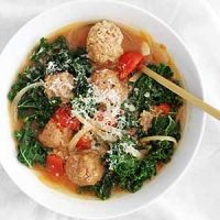 lighter italian wedding soup