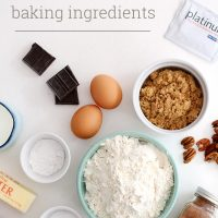 top 13 essential baking ingredients