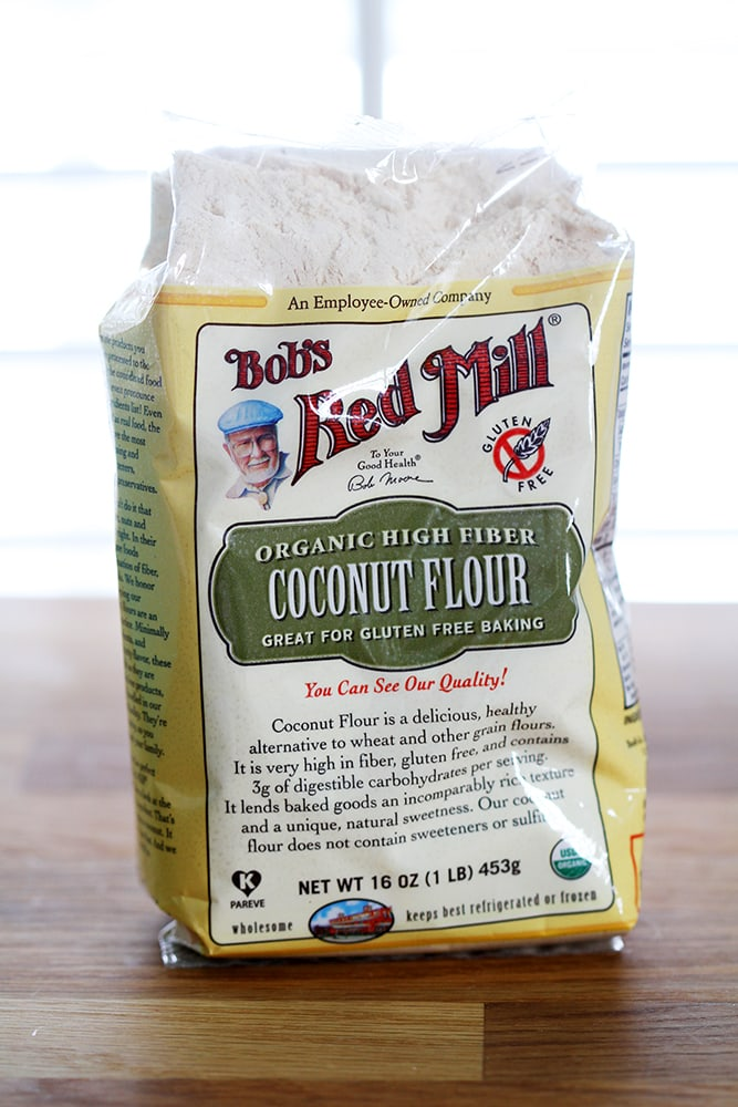 bob's red mill coconut flour bag