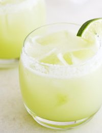 honeydew lime margaritas