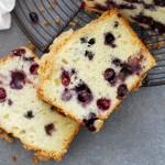 blueberry lemon muffin bread
