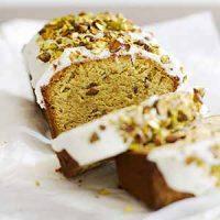 gluten free pistachio pound cake