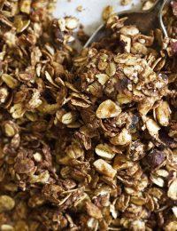 nutella granola