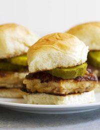 Southern style chicken sandwiches