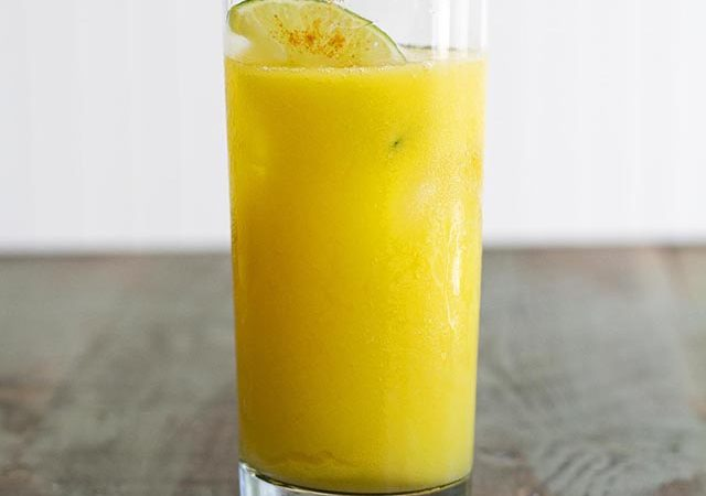 mango chili lime agua fresca