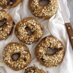 chocolate chip muesli bagels