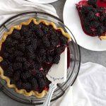 blackberry black bottom pie
