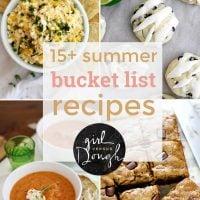 15+ summer bucketlist recipes