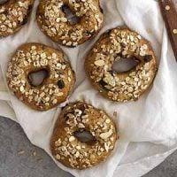 chocolate chip muesli bagels