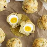 breakfast egg and cheese muffins