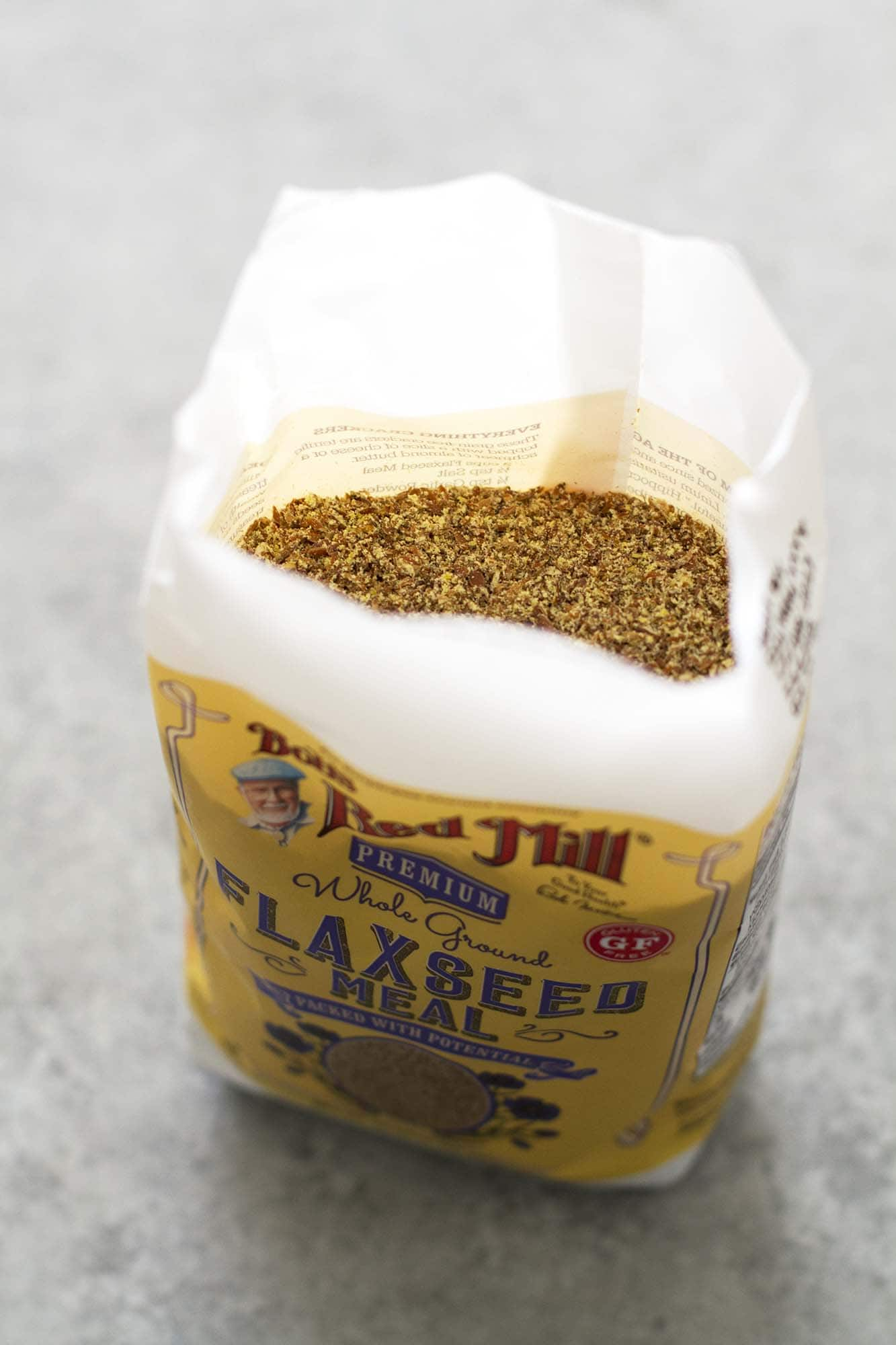 bag of flaxseed