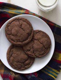 chocolate cardamom cookies