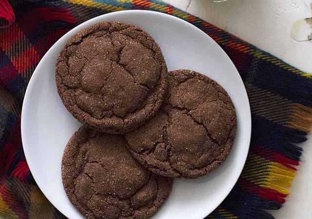 chocolate cardamom cookies