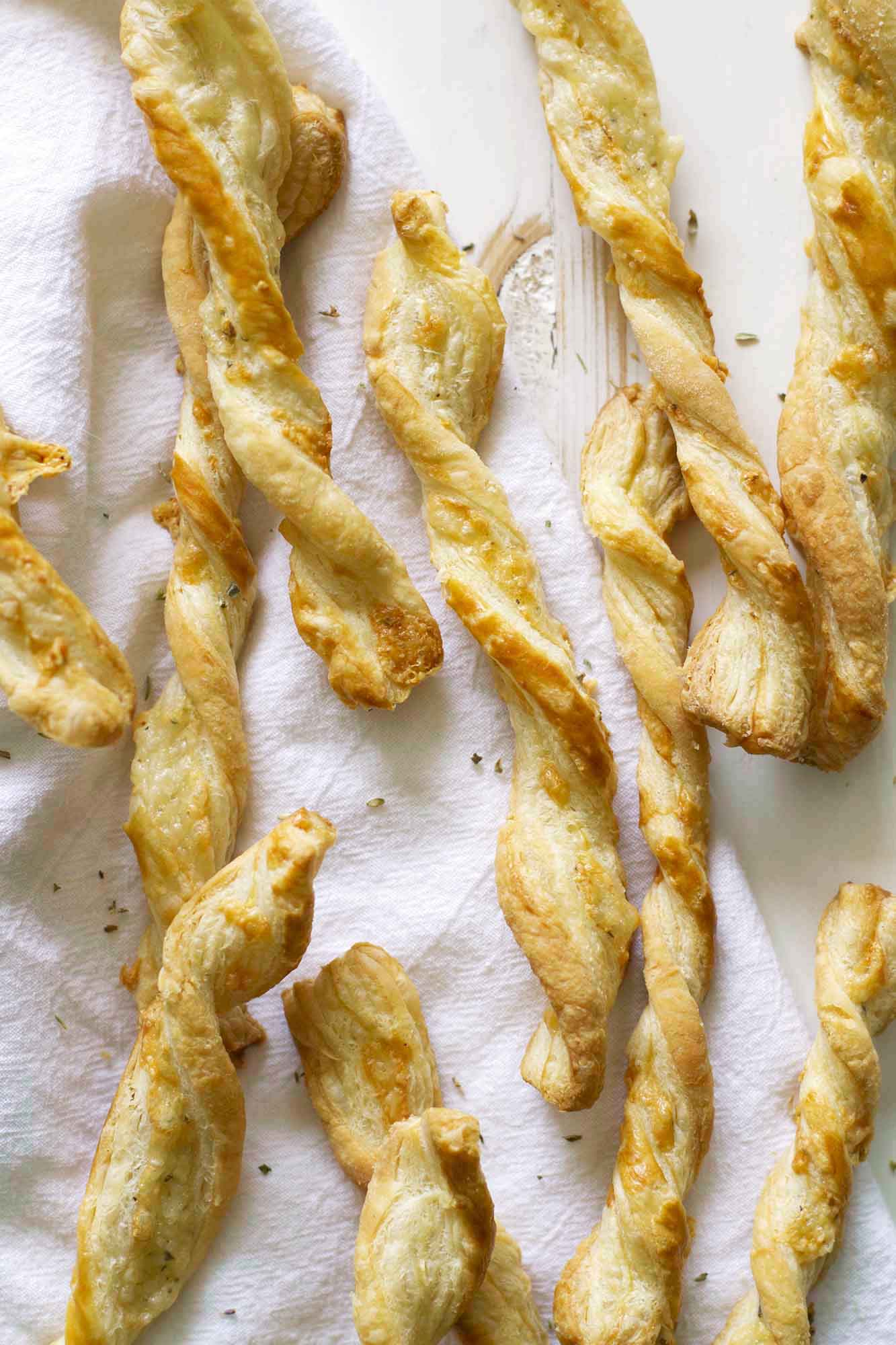 five ingredient cheese straws