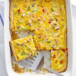 denver omelette crescent bake