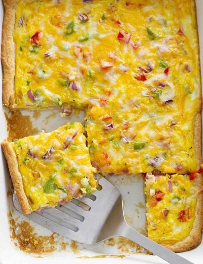 denver omelette crescent bake