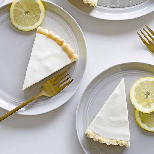lemon buttermilk cookie tart