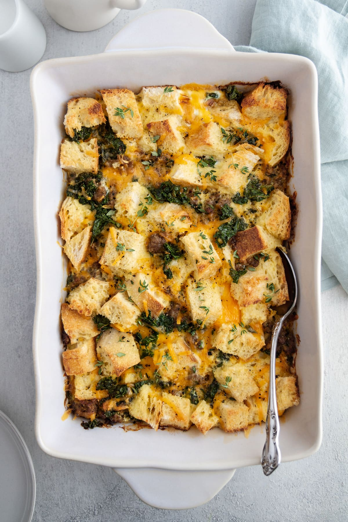 Not Your Mom S Egg Casserole Recipe Girl Versus Dough