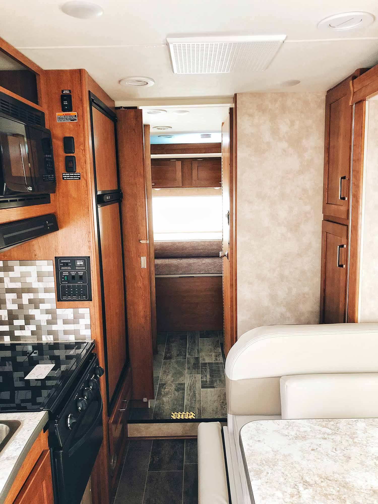 inside of rv