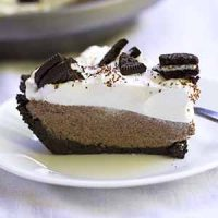 no bake french silk oreo pie