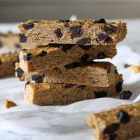 no bake blueberry peanut butter granola bars