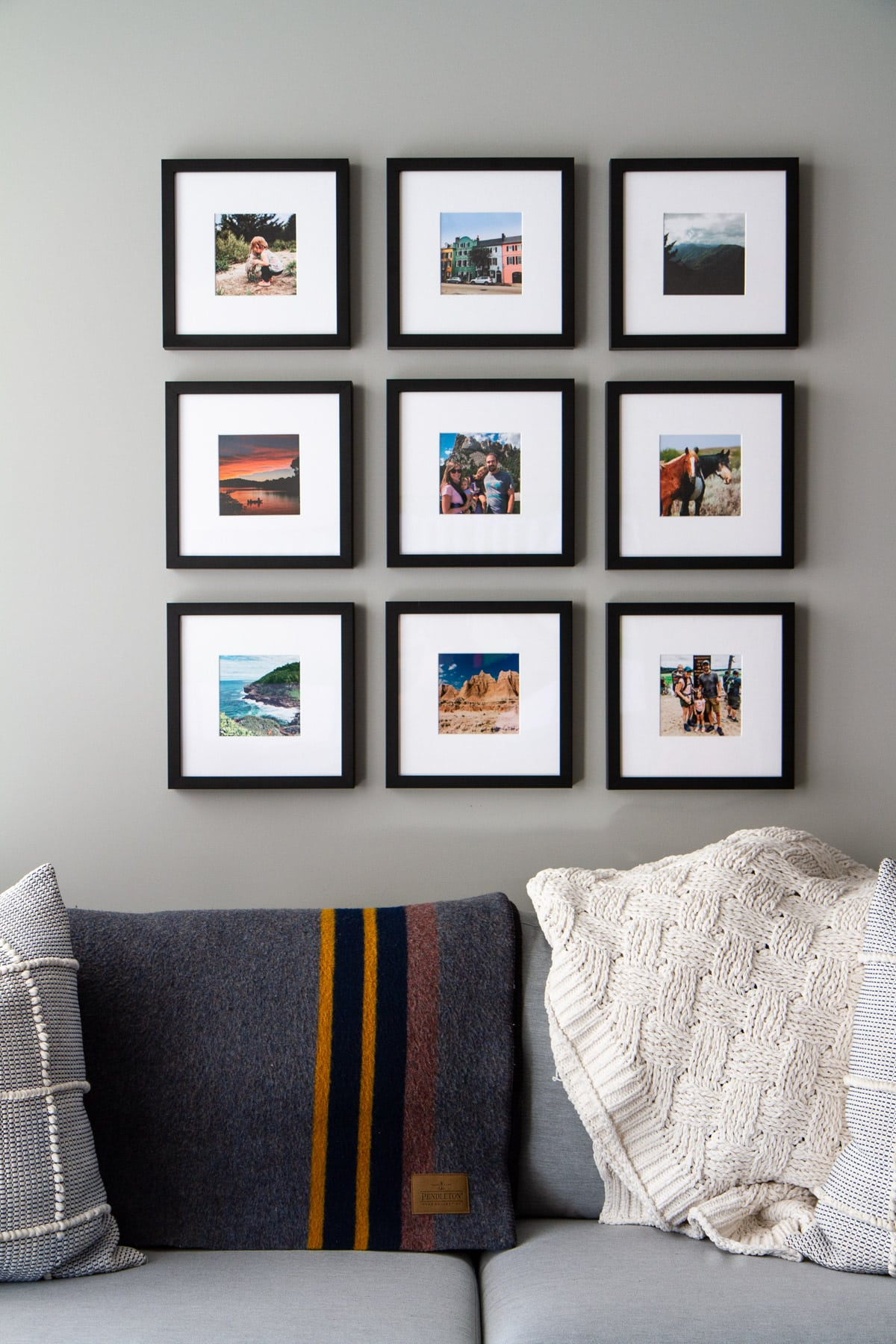 Framing Our Travels with Framebridge -- Framebridge makes it simple and effortless to frame your memories to treasure for years to come. @girlversusdough #girlversusdough #Framebridge #gallerywall #homedesign