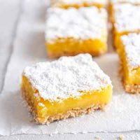 gluten free lemon bar
