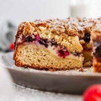 triple berry cream cheese coffee cake