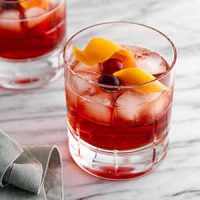 holiday negroni on a surface