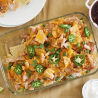 thanksgiving leftovers nachos